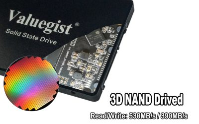 Accelerated by 3D NAND technology, Valuegist SSD gets great performance